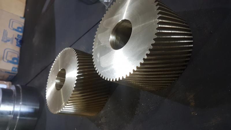 Engrenagens helicoidais fabricação